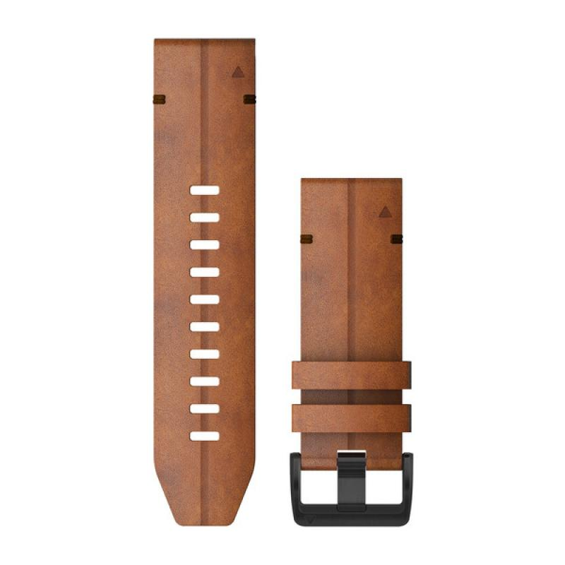 QuickFit® 26 Watch Bands | Chestnut Leather