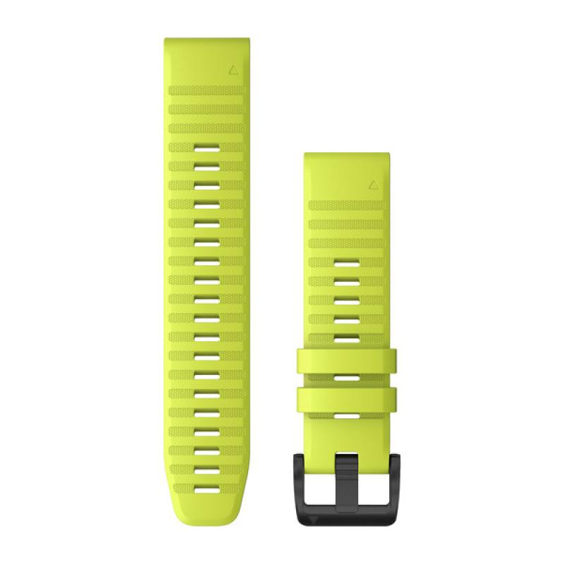 QuickFit® 22 Watch Bands | Amp Yellow Silicone