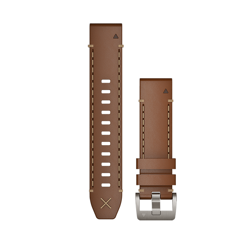 QuickFit® 22 Watch Bands | Italian Vacchetta Leather Strap