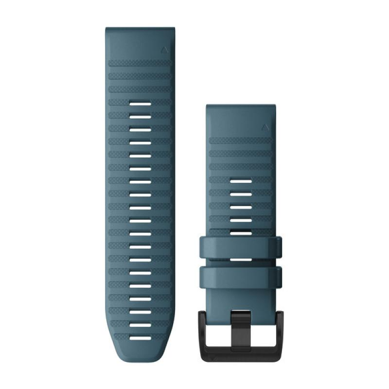 QuickFit® 22 Watch Bands | Lakeside Blue Silicone