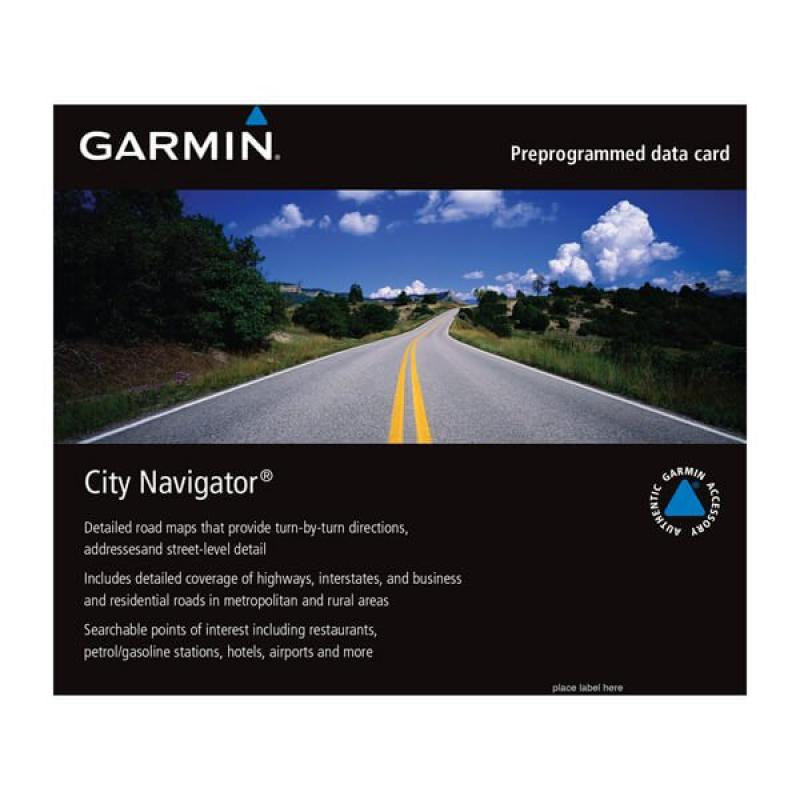 City Navigator® Middle East & Northern Africa NT, microSD/SD Card