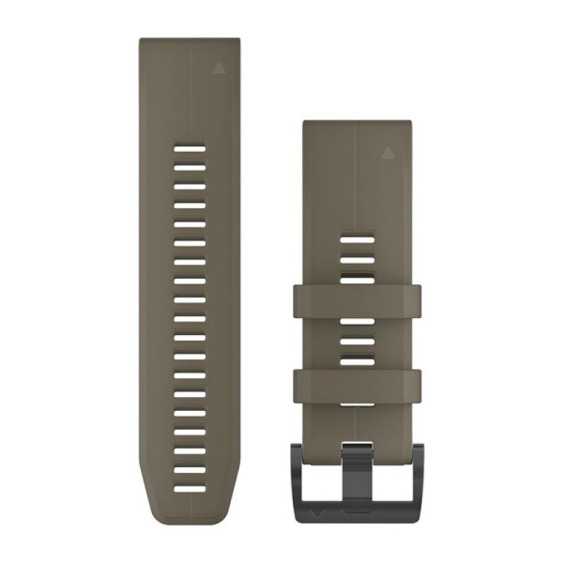 QuickFit® 26 Watch Bands | Coyote Tan Silicone