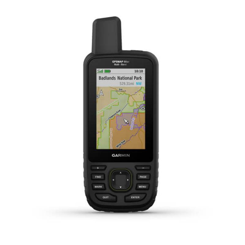 GPSMAP® 66sr l Multi-Band/GNSS Handheld with Sensors and TOPO Maps