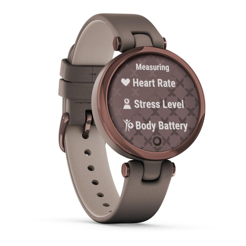 Lily™ Dark Bronze Bezel with Paloma Case and Italian Leather Band